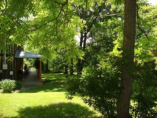 The Old Homestead  -  Charming Circa 1800 Farmhouse Looks Toward Sleepy Creek Mt