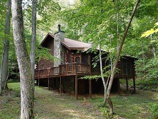 Beautiful family-friendly N. Ga.  cabin - privacy and Benton McKaye trail close