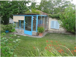 A small casita in a beautiful garden