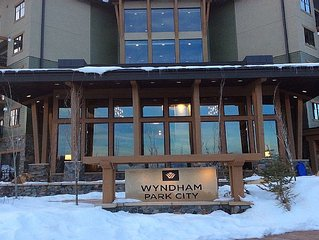 Wyndham Park City-Ski In/Ski Out-1 Bdrm Dlx