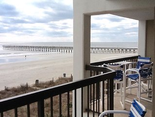 Beautiful Ocean Front Condo, N. Myrtle Beach (Cherry Grove) SC. 29582