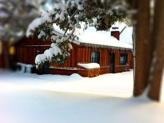 The White Moose Lodge (modern Cabin) 2 Bedroom/1 Bath from $75/night