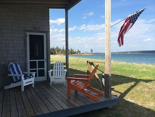 Beachfront Cottage on Rare Downeast Sandy Beach