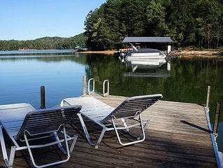 Adorable Cabin with great views, swimming, bathing and fishing