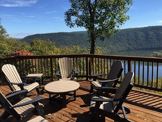 Timberlake Vista, lake house With Spectacular View, Near Shy Beaver Boat Launch