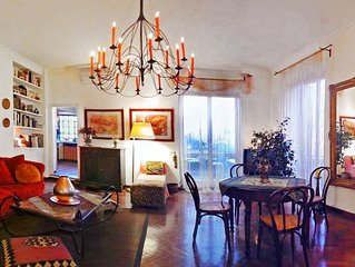 Flower Penthouse a big Apartment not far from Vatican and  with green terrace