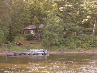 St. Croix River Summer House in Scandia, Waterfront Access & Stunning Views.