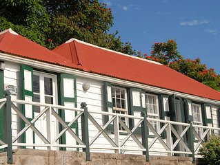 Traditional cottage in Windwardside, Saba. Relaxation is right here