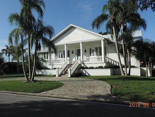 North Tampa Bay Modern Home on Marina- New Port Richey