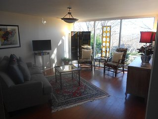 Private Retreat in Heart of Fayetteville Mt. Sequoyah Apartment on Mountain.