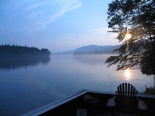 Adirondack Lakefront Property, Sleeps 11