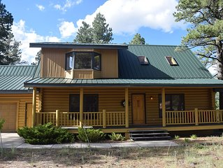 END OF SUMMER SALE SAVE 50% 8-15 to 8-31-Large cabin. Grand Canyon, Williams