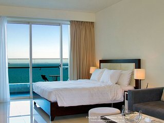 Spacious Studio Apartment With Seaview Big Balcony