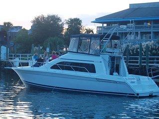 Yacht on SHEM CREEK!!