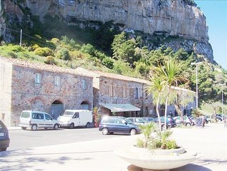 Enjoy a Sea View while Staying under Cefalu's Spectacular Cliff!