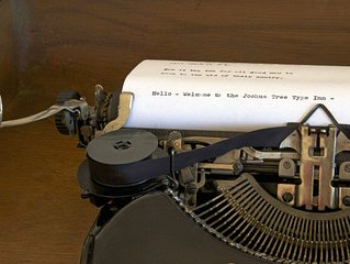 The Type Inn - stay in an interactive typewriter antique and art gallery
