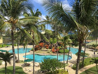 OCEAN/POOL VIEW KINGBED EXTRAS+COMPLIMENTARY RESORT PASS & PARKING PASS & WIFI!!