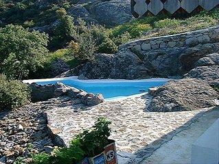 Village Cottage - Private Pool - Aegean Sea View