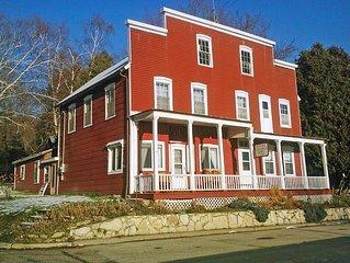 Charming historic hotel restored, now a wonderful home near stunning Lake Pepin