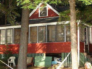 Rustic, Cozy, Mid-20th Century Lakeside Cabin, 1 Hour North of Boston