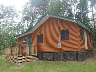 Comfy cabin for the fisherman or hunter