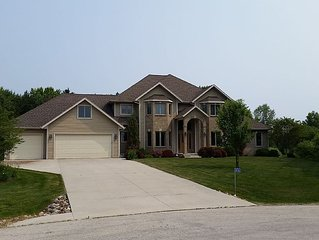 Large Executive Home close to the attractions! PGA, EAA, and Road America!