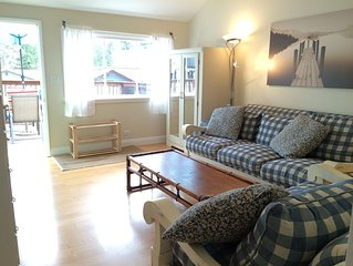 Cultus Lake-Beautiful Holiday Getaway Cabin:  2 Bdrm Simple, Cute, Cozy & Clean!