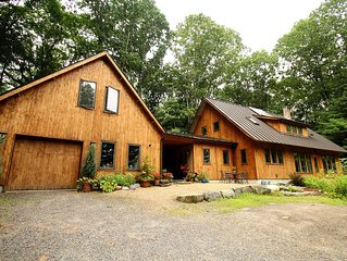 Gorgeous, Tranquil, Custom Built Eco-Friendly Home In Ideal Location