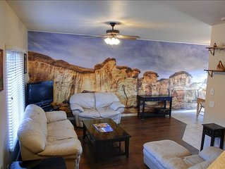 Kanab Townhome by Zion, Bryce, Grand Canyon, and Best Friends