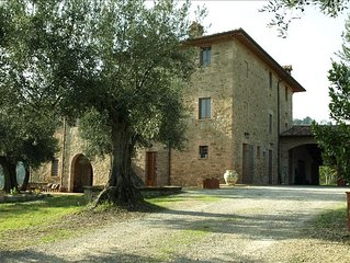 Apartment in Stone House in Umbrian Countryside with Pool