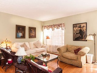 Cozy comfortable townhome- your home away from home!