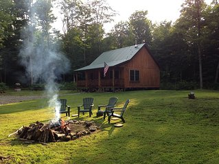 Upscale Cabin in the Woods, LETCHWORTH, Stony Brook Parks, Finger Lakes Wineries