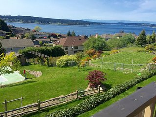 5br Sweeping View Of Puget Sound & Olympics & Under 1 Mile Chambers 2015 Us Open