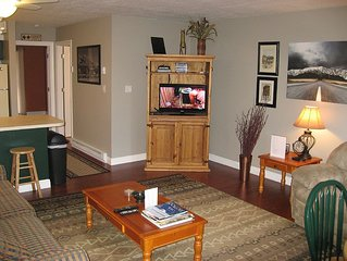 WL104 - Newly Renovated One Bedroom Condo At Wolf Lodge!