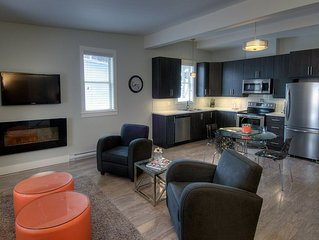 Fully furnished large one bedroom apartment in the midst of historic downtown.