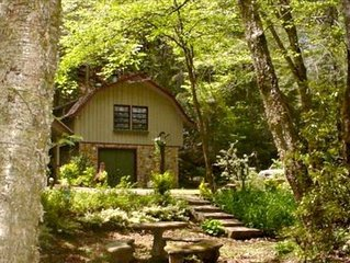 -Mountain Cabin at the Waters Edge with WIFI
