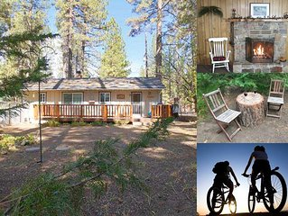 Close to trails, mountain biking and the Lake. Great Flat Fenced Yard for Kids!