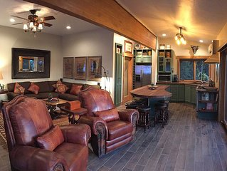 Luxury Retreat on 13 Secluded Acres With Spa Just Outside McCall