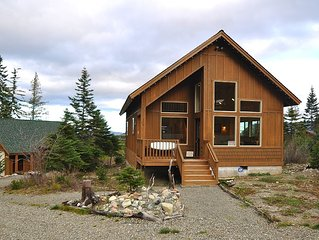 Spectacular Mountain Cabin Set on 3 Acres w/stunning mountain views