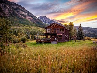 European Mtn. style  Chalet in the Heart of the Rocky Mtns - Marble, Colorado