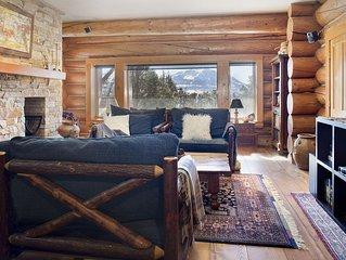 Quintessential Colorado Luxury Log Home
