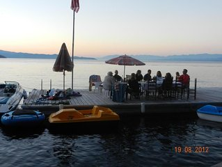 Best private dock on Flathead Lake