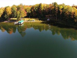 Spacious Lakefront Ranch