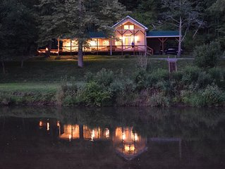 The Cabin- Riverside Cabin Perfect For Your Family Getaway