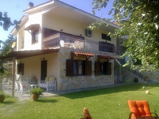Villa VIVIMA ideal  holiday house for families and big companies till 15 persons