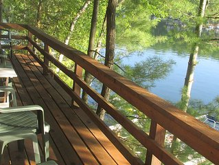 Classic Lakefront Home W/Optional Guest Cottage On Spider Lake; Sleeps 6-10