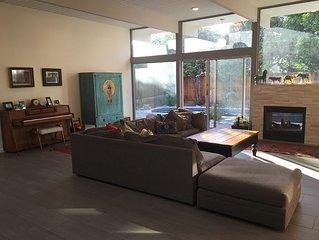 Spacious remodeled eichler in midtown Palo Alto