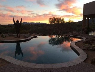 Casa Rio Rancho Private  Suite On 62 Acre Eco-ranch In Sonoran Desert