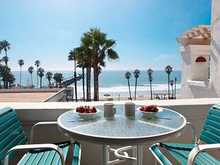 Steps from Beach, Restaurants & Pier  1 bedroom full kitchen