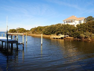 One of 7 homes on Brooks Island - Unobstructed Sunrise & Sunset views, H20 acces
